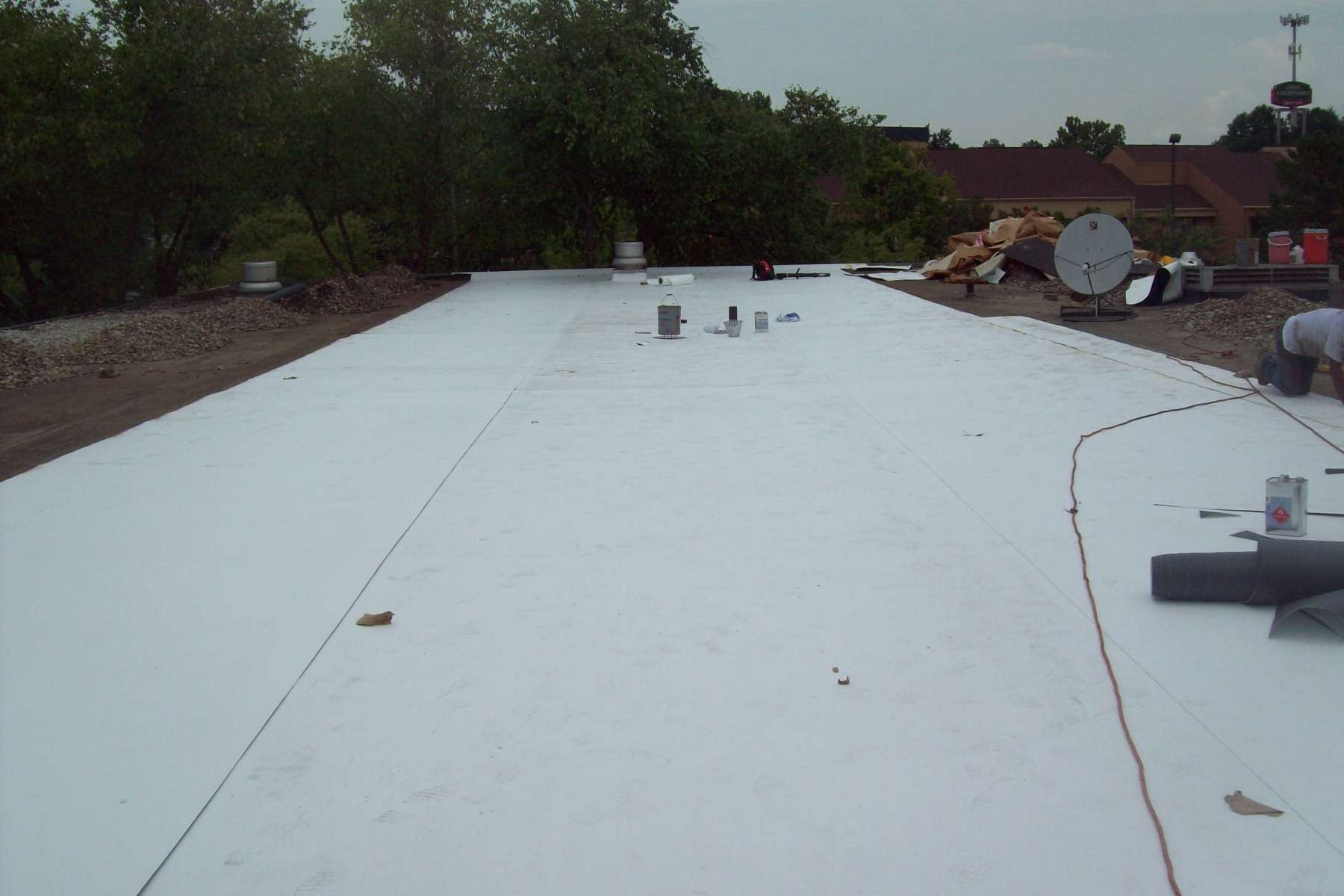 Commercial RoofGallery of Work